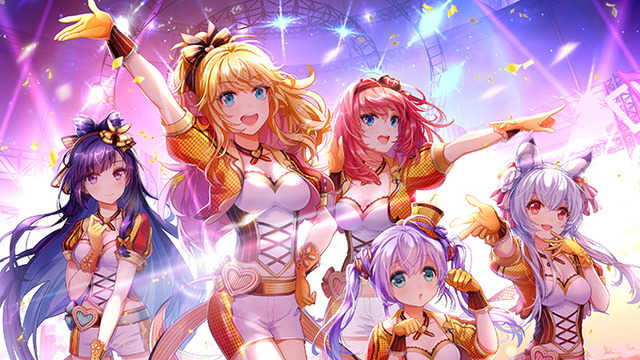 「ReVdol!-VIRTUAL IDOLS NEXT TO YOU-(リブドル!)」(C)2019 Happy Elements Asia Pacific Co., Ltd.