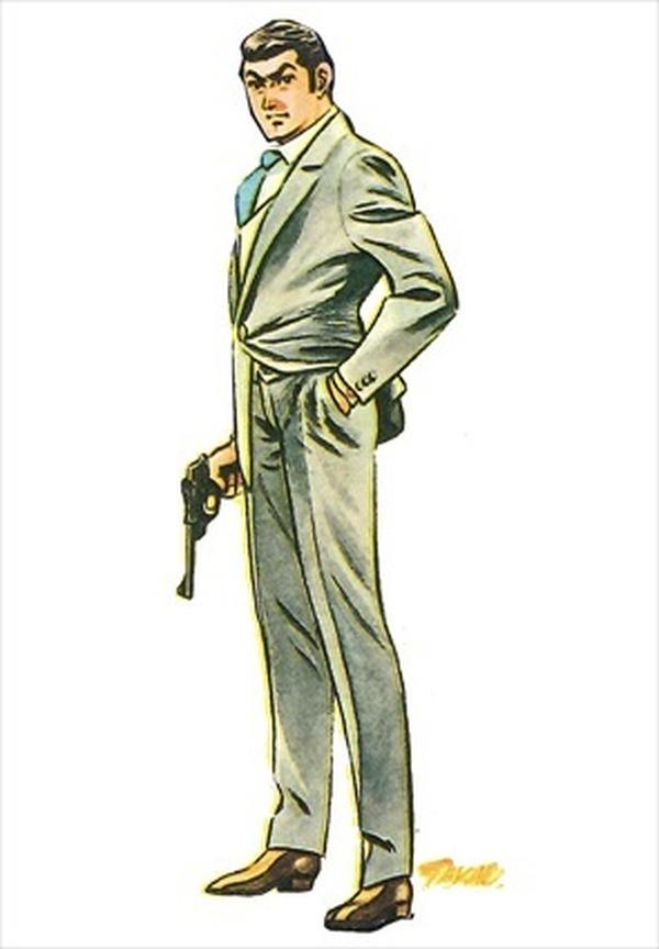 """さいとう・たかを版""""ジェームズ・ボンド""""? 劇画版「007」復刻記念でビジュアル公開  2枚目の写真・画像"""