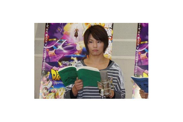 松本薫: 【画像】『ドラゴンボールZ 神と神』 野沢雅子「かめ~はめ