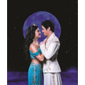 Courtney Reed as Jasmine and Adam Jacobs as the title character in ALADDIN.  Photo by Matthew Murphy (C)Disney
