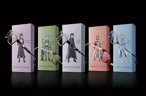 「SWORD ART ONLINE PC FRAME Produced by HEART UP」
