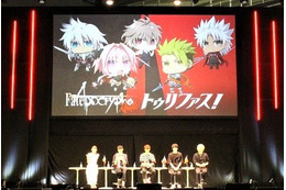 「Fate/Apocrypha」赤の陣営と黒の陣営、どっちが魅力的? キャスト陣がトーク【FGOフェス】