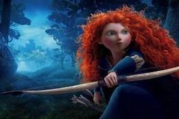 「メリダとおそろしの森」 ゴールデングローブ賞最優秀アニメーション映画賞受賞  画像