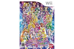 プリキュアダンスのゲーム化 Wiiに新作ソフト登場「ぜんいんしゅうごう☆レッツダンス!」 画像
