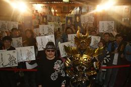 「牙狼~蒼哭ノ魔竜~」と雨宮慶太監督 台湾イベントで熱烈歓迎 画像