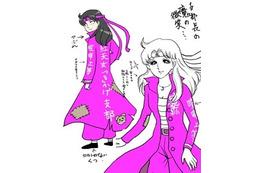 「ガラスの仮面」がDLE制作ギャグアニメに 美内先生絶句「おそろしいアニメ…!」 画像
