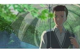 「言の葉の庭」主演に入野自由、花澤香菜 EDテーマ「Rain」作詞作曲:大江千里、歌:秦基博 画像