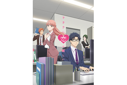 「ヲタクに恋は難しい」新宿駅に原画&パネルを展示!