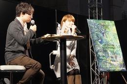 「言の葉の庭」完成直前、新海誠監督がACE2013でトーク 近藤好美さんゲストに 画像