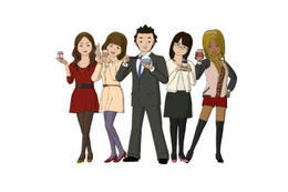 「Peeping Life」が桃屋とコラボアニメ オリジナルドラマ「ご縁ですよ!」公開 画像