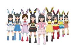エビ中のメンバー、ポケモンになって「ピカチュウとイーブイ☆フレンズ」を大応援 画像
