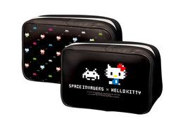 スペースインベーダーとコラボ ハローキティがキュートなドットキティに大変身 画像