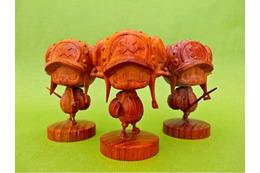 「ワンピース」チョッパーが高級銘木で木彫になった 7月中旬より発売開始 画像