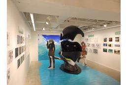 「翠星のガルガンティア メッセージミュージアム」 中野ブロードウェイで開催 制作資料展示 画像