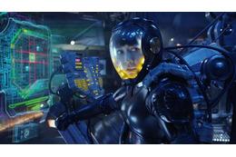 「パシフィック・リム」 林原めぐみ版TVCM公開 パイロットスーツでロボット搭乗するヒロイン演じる 画像