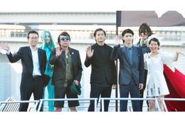 東京湾に海賊船出現! 小栗旬、三浦春馬、松本零士デザインの船でクルーズ 画像