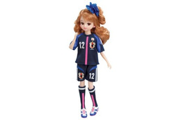 背番号は「12」 リカちゃんにJFA公認「なでしこジャパンモデル」発売 画像