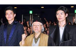 「キャプテンハーロック」初日舞台挨拶 75歳・松本零士は生涯現役宣言 画像