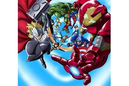 アニメ版「アベンジャーズ」14年春放送開始 ディズニー製作、東映アニメ制作、バンダイが玩具展開 画像