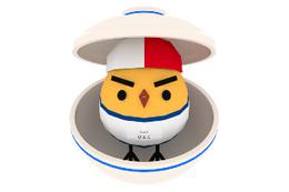 """150万DLアプリゲーム「ぴよ盛り」が第3ステージ 給食のうえに""""ひよこ""""を盛れ! 画像"""