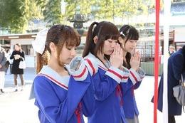 「未確認で進行形」安産の名所・日枝神社に参拝 「ヒット作が生まれますように」 画像