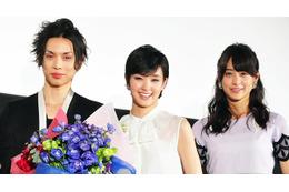 映画「黒執事」公開で、水嶋ヒロ、剛力彩芽、山本美月が涙の舞台挨拶 画像