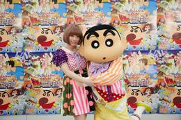 きゃりー、大ファンの「映画クレヨンしんちゃん」主題歌決定に大喜び! 画像