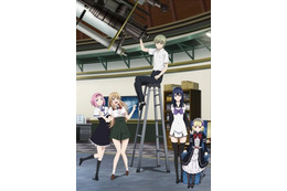 「極黒のブリュンヒルデ」TOKYO MXにて4月6日スタート キービジュアルも公開 画像
