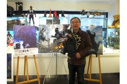 怪獣絵師 開田裕治インタビュー「映像よりかっこいい絵を描きたい……」 画像