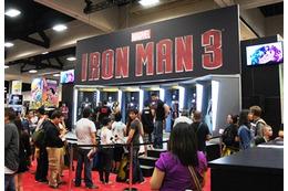 [コミコン2012] マーベル vs DC 企業ブースはいずれも映画重視 画像