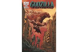 米国で相次ぐコミック版「ゴジラ」 映画の前日譚に、ゴジラに滅ぼされた人類