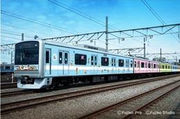藤子・Fキャラ勢揃い 特別ラッピング電車「小田急F-TrainII」が復活運行 画像