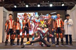 「ウルトラマンギンガS」新TVシリーズ全16話が7月スタート 東京おもちゃショーで製作発表会開催 画像