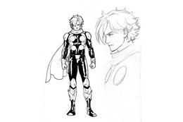これがアメコミ版・島村ジョーだ! 「Cyborg009」ラフスケッチ画を初公開 画像