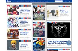 「Character JAPAN」グッスマが海外向け情報サイト開設 国内アニメ情報を世界発信 画像