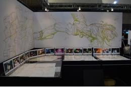 ウルトラヒーローがお出迎え 「ニンジャスレイヤー」など人気作も多数展示  キャラホビ2014フィールズブース 画像