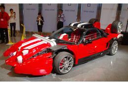 「仮面ライダードライブ」の愛車トライドロンは ホンダ NSX がベースと判明 画像