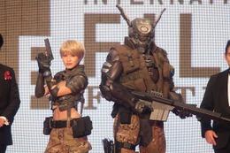 CGアニメそのまま「アップルシード アルファ」デュナンとブリアレオス 東京国際映画祭レッドカーペットに 画像
