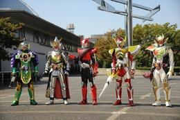 仮面ライダー劇場版最新作の予告が公開 ドライブ・鎧武 奇跡の共闘 画像