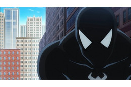 「ディスク・ウォーズ:アベンジャーズ」に黒いスパイダーマン登場 不気味なビジュアル公開