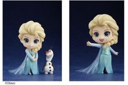 """「アナと雪の女王」エルサ """"ありのまま""""にグッスマねんどろいどで登場 話題作が人気フィギュアに 画像"""