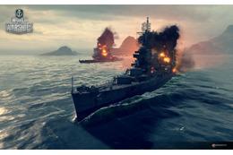 オンラインゲーム「World of Warships」、アルペジオとのコラボトレイラー公開 画像