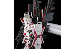 PG1/60ユニコーンガンダム12月13日に発売 拡張ユニットでフルアーマー仕様に 画像