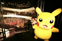 「ポケモン XY」新OPテーマは佐香智久「ゲッタバンバン」 ライブにピカチュウも参戦 画像