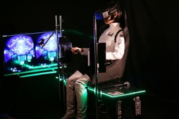 「継衛発進体験装置」が新宿-シドニアの基地-に登場 Oculus Riftが大幅パワーアップ 画像