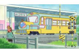 西武線車内で公開、トムスと西武鉄道のコラボアニメ「でででん」が話題