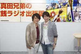 「戦国無双」キャストステージ@Animejapan 2015 草尾毅さんと小野大輔さんが熱いトーク 画像