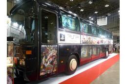 キャラホビ2012  「TIGER & BUNNY」宣伝バスも登場 バンダイナムコが新作ゲーム多数展示 画像