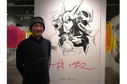 渋谷パルコ「桂正和の世界展」桂正和先生登場 ZETMANスーツも展示 画像