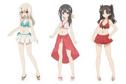 7月放送開始「プリズマ☆イリヤ ツヴァイ ヘルツ!」水着設定公開、記念イベントも発表 画像